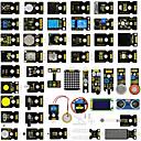 ราคาถูก อุปกรณ์ DIY-Keyestudio 48 in 1 เซ็นเซอร์ชุดเริ่มต้นพร้อมกล่องของขวัญสำหรับ a rduino โครงการ diy (48 ชิ้นเซ็นเซอร์)