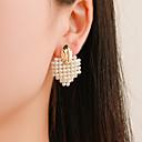 ieftine Cercei-Pentru femei Cercei Stud Retro Simplu Clasic Vintage European Imitație de Perle cercei Bijuterii Auriu Pentru Petrecere Cadou Zilnic Stradă Muncă 1 Pair