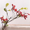 رخيصةأون أزهار اصطناعية-زهور اصطناعية 1 فرع كلاسيكي الحديث المعاصر النمط الرعوي نباتات فاكهة أزهار الطاولة
