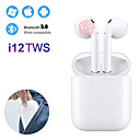 cheap True Wireless Earbuds-i12 TWS True Wireless Bluetooth 5.0 Earphone Touch Control Earbuds 3D Surround Sound