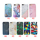 cheap iPhone 7 Screen Protectors-Case For Apple iPhone XS Max / iPhone 8 Plus Pattern / Shockproof Back Cover Marble Hard PC for  iPhone 7 / 7 Plus / 8 / 6 /6 Plus / XR / X / XS