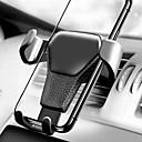 ieftine Cellphone & Device Holders-mașină gravitațională aer aerisire suport suport suport suport pentru iPhone telefon mobil mobil GPS