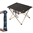 ieftine Imbracaminte & Accesorii Căței-Masă Camping cu buzunar lateral Portabil Ușor Ultra Ușor (UL) Pliabil Aliaj de Aluminiu 7005 Oxford pentru 3-4 persoane Pescuit Drumeție Plajă Camping Primăvară Vară Negru