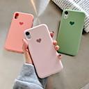رخيصةأون Huawei أغطية / كفرات-غطاء من أجل Apple iPhone XR / iPhone XS Max / iPhone X نموذج غطاء خلفي قلب ناعم جل السيليكا