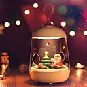 ieftine Ceasuri Damă-1 buc LED-uri de lumină de noapte / Noapte inteligentă Alb Cald USD Pentru copii / Creative <=36 V