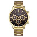 ieftine Ceasuri Bărbați-Bărbați Oțel Inoxidabil Quartz Stil modern Stl Auriu 30 m Cronograf Creative Model nou Analog Sclipici Casual - Auriu Negru Albastru Doi ani Durată de Viaţă Baterie