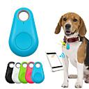 ieftine Câini Gulere, hamuri și Curelușe-copii Pisici Animale de Companie GPS-Gulere Portofele Dispozitiv pentru Găsit Cheile Mini GPS Bluetooth Smart Mată Plastic Verde Albastru Roz