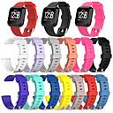 ieftine Ceasuri Damă-Uita-Band pentru Fitbit Versa / Fitbit Versa Lite Fitbit Banderola Sport Silicon Curea de Încheietură