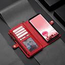 Недорогие Чехлы и кейсы для Galaxy S6-Кейс для Назначение SSamsung Galaxy S8 Plus Кошелек / Бумажник для карт / Флип Чехол Однотонный Твердый Кожа PU