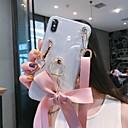 رخيصةأون حافظات / جرابات هواتف جالكسي A-غطاء من أجل Samsung Galaxy A5(2018) / A6 (2018) / Galaxy A7(2018) بريق لماع غطاء خلفي بريق لماع TPU