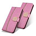 رخيصةأون حافظات / جرابات هواتف جالكسي A-غطاء من أجل Samsung Galaxy A5(2018) / A6 (2018) / A6+ (2018) محفظة / حامل البطاقات / ضد الصدمات غطاء كامل للجسم بريق لماع قاسي جلد PU
