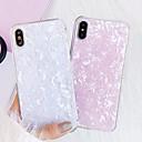 رخيصةأون أغطية أيفون-غطاء من أجل Apple iPhone XR / iPhone XS Max / iPhone X ضد الغبار / نحيف جداً / احتياطية غطاء خلفي سماء / لون متغاير جل السيليكا