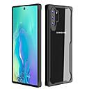 رخيصةأون إكسسوارات سامسونج-غطاء من أجل Samsung Galaxy Note 9 / Note 8 / ملاحظة غالاكسي 10 ضد الصدمات / ضد الغبار / شفاف غطاء خلفي لون سادة TPU / الكمبيوتر الشخصي
