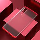 رخيصةأون حافظات / جرابات هواتف جالكسي S-غطاء من أجل Samsung Galaxy S9 / S9 Plus / S8 Plus ضد الصدمات / مثلج / شبه شفّاف غطاء خلفي لون سادة / شفاف الكمبيوتر الشخصي
