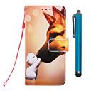 رخيصةأون حافظات / جرابات هواتف جالكسي J-الحال بالنسبة لتفاح iphone xr / iphone xs max wallet / holder card / with stand كامل الجسم الحالات hound kiss pu leather iphone 6s / 6s plus / 7/7 plus / 8/8 plus / x / xs