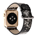 رخيصةأون أساور ساعات هواتف أبل-حزام إلى أبل ووتش سلسلة 5/4/3/2/1 Apple بكلة عصرية جلد طبيعي شريط المعصم