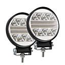 رخيصةأون مصابيح أعمال صيانة السيارات-أدى 102W 4 بوصة سيارة شكل دائري يعمل ضوء تعديل شاحنة الطرق الوعرة سقف الأنوار package2pcs