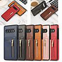 ieftine Carcase / Huse Galaxy S Series-carcasă pentru samsung galaxy s10 s10e s10 plus portofel de carte de portofel cutii de corp complet colorat pu piele tpu s9 s9 plus s8 s8 plus s7 s7 edge