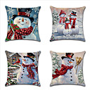 رخيصةأون تزيين المنزل-عيد الميلاد وسادة غطاء وسادة تغطي سلسلة 19 موضوع سيارة ثلج
