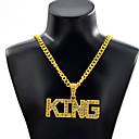 رخيصةأون القلائد-رجالي قلائد الحلي بانغك كروم ذهبي فضي 70 cm قلادة مجوهرات 1PC من أجل مناسب للبس اليومي