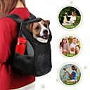 ieftine Câini Gulere, hamuri și Curelușe-Pisici Câine Portbagaje & rucsacuri de călătorie Animale de Companie  Genţi Transport Portabil Respirabil Mată Rosu Albastru Negru