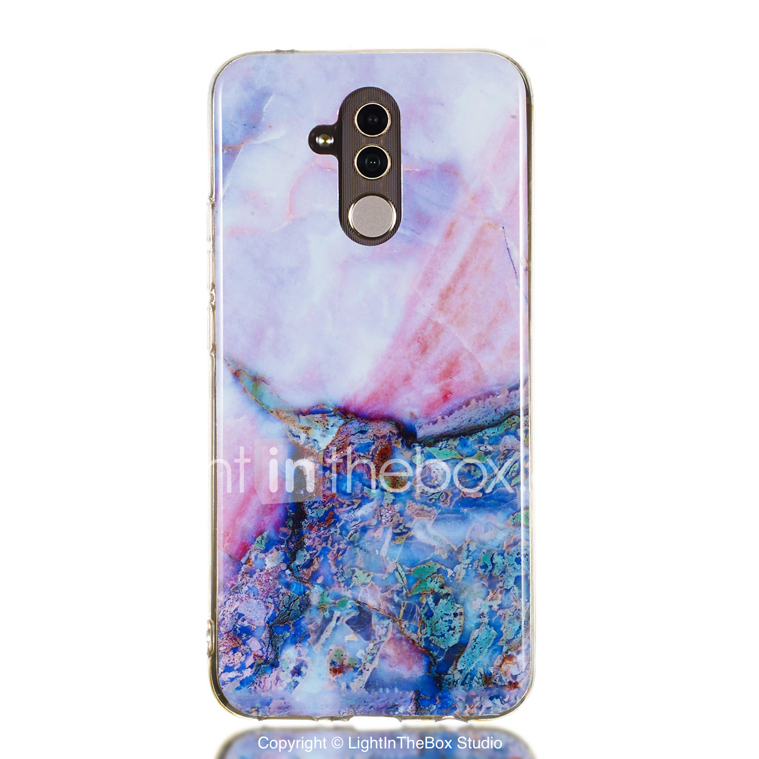 Case For Huawei Huawei Honor 10 / Huawei Honor 9 Lite / Huawei Honor 8X IMD  / Pattern Back Cover Marble Soft TPU