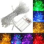 billiga -1 set ledstränglampa 6m batterilådan lyktor gipsophila freflies lampor stjärna lampor nattljus julgran ljus