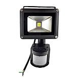 billiga -10w vattentät 800lm pir rörelsessensor säkerhetslampa översvämnings ljus 85-265v