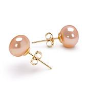 Mujer Perla Pendientes colgantes - Oro Piedras Para