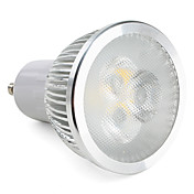 310lm GU10 Focos LED MR16 3 Cuentas LED LED de Alta Potencia Regulable Blanco Cálido 220-240V