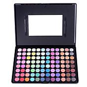 96 Paleta de Sombras de Ojos Mate Paleta de sombra de ojos Polvo Grande Maquillaje de Hada / Maquillaje de Fiesta