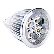 5W 400-500 lm GU5.3(MR16) LED-spotpærer MR16 5 leds Høyeffekts-LED Varm hvit DC 12 V
