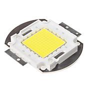 Diy 100 w 8000-9000lm 6000-6500k luz natural blanca módulo integrado (33-35v)