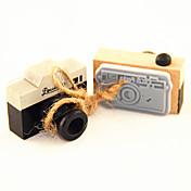 sello de madera patrón de cámara de la vendimia (colores aleatorios)