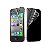 Skjermbeskytter Apple til iPhone 6s iPhone 6 iPhone 4s/4 PET 10 stk Front- og bakbeskyttelse Ultratynn