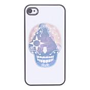 Cráneo Caso duro del patrón de dibujos animados para el iPhone 4/4S