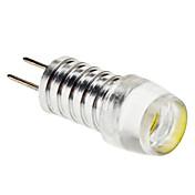 6000 lm G4 LED-lamper med G-sokkel 1 LED perler Høyeffekts-LED Naturlig hvit 12 V
