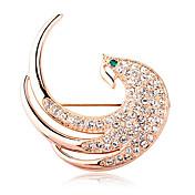 The Peacock Tipo Diamante Broche