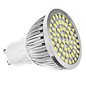 6500 lm GU10 Focos LED MR16 60 leds SMD 3528 Blanco Natural AC 110-130V AC 220-240V