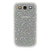 Caso duro noctilucentes elegante para Samsung Galaxy S3 I9300