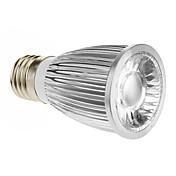 420-450lm E26 / E27 Focos LED 1 Cuentas LED COB Blanco Fresco 85-265V