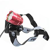 Luces para bicicleta , Luces Frontales / Linternas de Cabeza - 3 Modo Lumens 18650 CA Ciclismo/Bicicleta Color Aleatorio Bicicleta Others