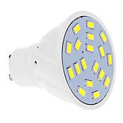 570 lm GU10 LED 스팟 조명 18 LED가 SMD 5630 따뜻한 화이트 차가운 화이트 AC 220-240V