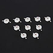 1W 70LM Red Light LED Chip (2.2-2.4V, 10 stk)