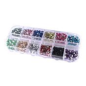 1200 Joyería de uñas Elegante Abstracto Nail Art Design