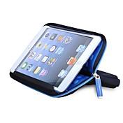 Funda Para Mini iPad 3/2/1 Funda Protectora Un Color Diseño Especial Textil para