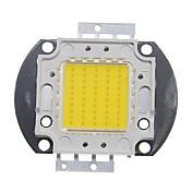 ZDM® 1pc 4000-5000lm 30V Accesorio de la bombilla Chip LED Aluminio para DIY Proyector de luz de inundación LED 50W