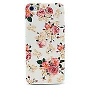 peon rose blomst mønster vanskelig sak for iPhone 4 / 4S