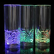 1pc LED Night Light LED- Glass Batteri Vanntett