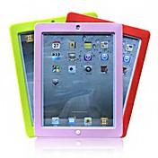 Etui Til iPad Mini 3/2/1 Støtsikker Bakdeksel Helfarge Silikon til iPad Mini 3/2/1